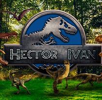 Jurassic Héctor. A Design, Photograph, Graphic Design, Video, and Digital retouching project by Héctor Iván  Velarde Banda - 01-11-2017