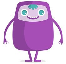 Súmate, de ti depende crecer. A Character Design project by Nicole Herrera Espinoza         - 04.11.2017