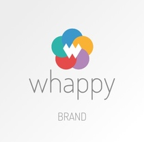 Whappy Brand. A Design, Br, ing, Identit&Icon design project by Gerardo Daglio López - 05-10-2017