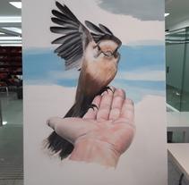 Una de mis creaciones plásticas (Performance). A Fine Art project by Juan Diego González         - 01.11.2017