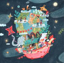 Protagonistas de la aventura más grande del planeta. A Illustration project by Leire Salaberria - 08-11-2017