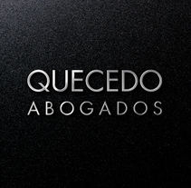 Bufete Quecedo. A Art Direction, Br, ing, Identit, and Web Design project by Dani GC - 20-10-2017