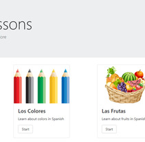 Spanish lessons - Proyecto en ReactJS. A Education, and Web Development project by Elsi Caldeira         - 14.09.2017