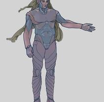 Diseño de Personajes. Um projeto de Ilustração e Design de personagens de Alex Céspedes         - 10.11.2017