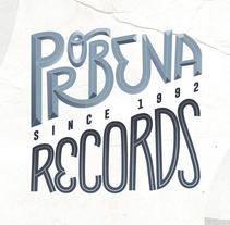 PROBENA RECORDS. Um projeto de Br, ing e Identidade e Tipografia de Carlos Vidriales Sánchez         - 13.11.2017