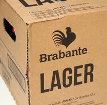 Packaging Brabante 24UD.. Um projeto de Design gráfico, Marketing e Packaging de IDEOTAS        [GR4ND35 1D345] - 24-10-2017