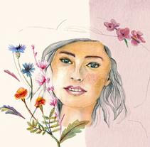 Mi Proyecto del curso: Retrato ilustrado en acuarela. Un proyecto de Ilustración de Olga Grinko - 18-11-2017