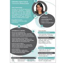 Experiencia profesional - Lic. Gabriela López. A Marketing project by Gabriela López García         - 18.05.2016