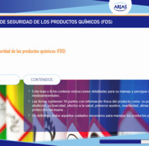 Desarrollo web curso PRL Mantequerías Arias. A Web Design, and Web Development project by Álvaro         - 23.11.2017