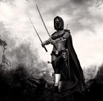 Chica guerrera. Un proyecto de 3D y Diseño de personajes de Toni Ortin         - 23.08.2017