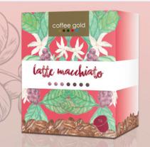 Cápsulas  Coffee Gold. Un proyecto de Diseño gráfico y Packaging de Jon Ander Vázquez Merchán         - 26.10.2017