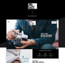 One Shot Hotels . A UI / UX, Art Direction, Information Architecture, and Web Design project by marta kraft         - 28.11.2017