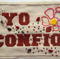 Yo Confío . A Crafts project by Isabel Uribe Moya         - 30.11.2017