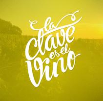 Motion Graphics La Clave es el Vino. Um projeto de Motion Graphics, Cinema, Vídeo e TV, Br, ing e Identidade e Vídeo de Carlos Vidriales Sánchez         - 29.11.2017