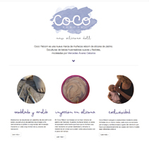 cocoreborn website. A Web Design project by León Gallardo         - 29.11.2017