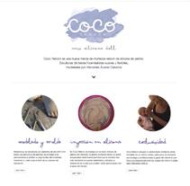cocoreborn website. Um projeto de Web design de León Gallardo         - 29.11.2017