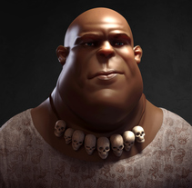 Max cartoon character design. A 3D, Character Design, and Sculpture project by Luis Yrisarry Labadía - 29-11-2017