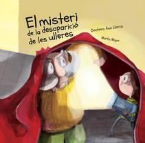 El Misteri de la desaparició de les ulleres. Um projeto de Ilustração, Design editorial e Educação de Marta  Mayo Martín - 12-06-2016