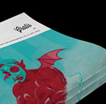 Art District # 1. Dirección editorial y edición gráfica. Publicación impresa gratuita. A Editorial Design project by Daniela García - 01-04-2015