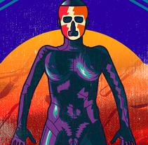 La piel que habito Poster 80's. Un proyecto de Ilustración, Cine, vídeo, televisión, Cine e Ilustración vectorial de Eva Segen - 01-08-2017