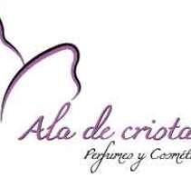 Logo Ala de Cristal - Perfumes y Cosmética Premium Online. Un proyecto de Diseño de jo y as de David Están Francés         - 06.12.2017