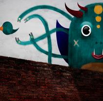 Cazando Pajaros. A Illustration, Photograph, Character Design, and Vector illustration project by Osmar Axel  Rivera Mejia - 20-12-2017