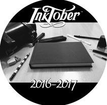 Ilustraciones a tinta Inktober 2016-2017. A Illustration project by Javier García-Conde Maestre         - 01.11.2017