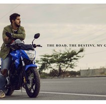 Suzuki Gixxer publicidad. A Design, Advertising, Photograph, Art Direction, Editorial Design, Graphic Design, and Digital retouching project by Crow          - 22.12.2017