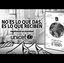 Shooting Boards - UNICEF: 'Regalo Azul' / 'Blue Gift' - (Colaboración / In collaboration). A Illustration, Advertising, Film, Video, and TV project by Pablo Buratti - 29-12-2017