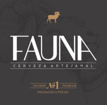 Identidad: Cerveza FAUNA. A Design, Advertising, Br, ing, Identit, and Graphic Design project by Roberto Matías Carió         - 03.01.2018