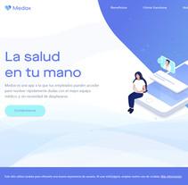 Medox. A Web Development project by Sara Row         - 15.11.2017