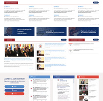 Tribunal Constitucional RD. A Web Design project by Hairo Mercedes Hernández         - 09.01.2018