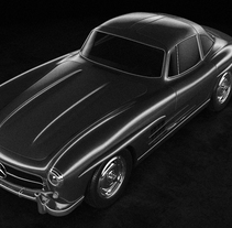 Mercedes 300 SL. A 3D, and Animation project by mariogonzalez3dartist         - 09.01.2018