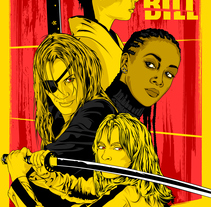 Kill Bill. A Illustration, Graphic Design, and Vector illustration project by CranioDsgn  - 10-10-2017