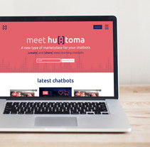 HUTOMA chatbots. A Web Design project by carlalloretpuig         - 15.02.2017