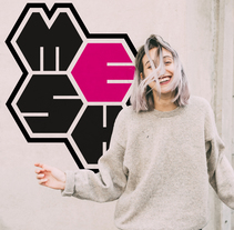 Logotipo para producto de muvit life: Mesh. A Graphic Design, Product Design, and Digital retouching project by Amanda Aliaga Barba         - 10.06.2017