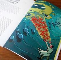 Una cantidad incalculable de felicidad (Principia Magazine nº6). Um projeto de Ilustração e Design editorial de Luis Armand Villalba         - 19.01.2018