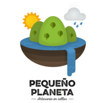 Pequeño Planeta. A Illustration, and Graphic Design project by Rubén Megido         - 25.03.2017