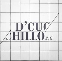 D'CUCHILLO. Un proyecto de Ilustración, Dirección de arte, Br, ing e Identidad y Diseño gráfico de mauro hernández álvarez         - 26.01.2018