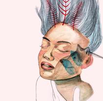 Aries. A Illustration, and Fine Art project by Noemí Díaz Patiño         - 28.01.2018