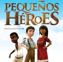 Film Pequeños Heroes - Studio Malditomaus. A Film, Video, TV, 3D, Character Design, and Character animation project by Pablo Emmanuel De Leo         - 29.01.2016