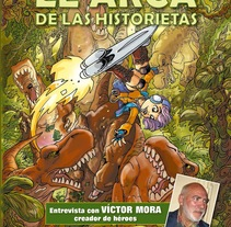 El Arca de las Historietas 3. A Comic project by Oscar Carcedo         - 14.11.2015
