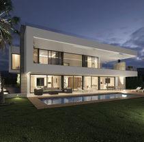 Infografías 3D villa de lujo en Marbella. Um projeto de Design, Arquitetura de interiores e Infografia de DIKA estudio          - 31.01.2018