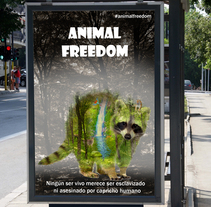 Campaña de Concienciación sobre la Libertad Animal 2. Un proyecto de Diseño, Publicidad y Diseño gráfico de Isabel Resinas Arias de Reyna - 18-01-2017