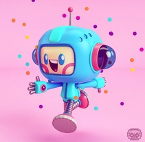 Mas Modelados Kawaii . A Illustration, 3D, and Character Design project by Adrian  Garcia - 01-02-2018