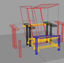 Silla 3D. Un proyecto de 3D y Diseño industrial de Judith Solvez Vilamala - 10-10-2015