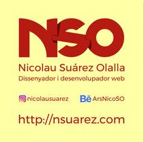 Videocurrículum. A Animation, and Graphic Design project by Nicolau Suárez Olalla         - 10.02.2018