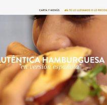 Tates, hamburguesas españolas. Un proyecto de Diseño Web y Desarrollo Web de Javier Alvarado Bertólez         - 15.01.2018