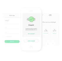 Climbapp. A UI / UX, Br, ing, Identit&Interactive Design project by Pablo Chico Zamanillo - 12-02-2018