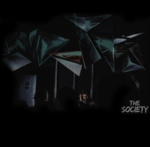 Videomapping at The Society, Sala Instinto, Barcelona. Um projeto de Instalações e Vídeo de Joan Martínez Gaixa         - 22.02.2018